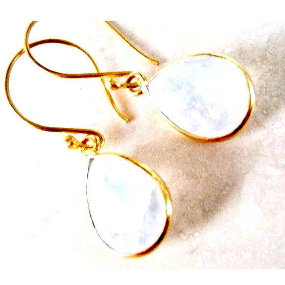 Andi Moonstone Drop Earrings