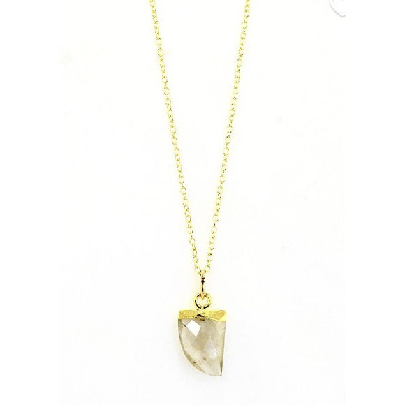 Bali Arrow Stone Necklace