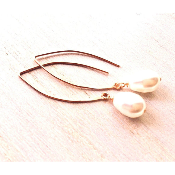 Turin Pearl Earrings