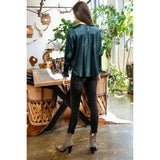 Harley Long Sleeve Silky Blouse THS0854