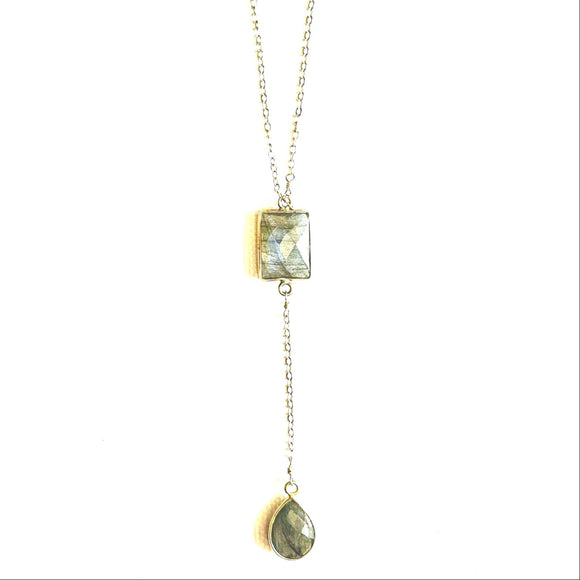 Acea Labradorite Y Necklace
