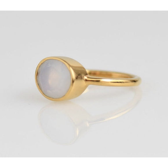 Claire Moonstone Updated Oval Ring