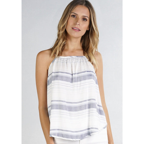 Abella Striped Top Lovestitch i-12248w-pxy-Fig Tree Jewelry & Accessories