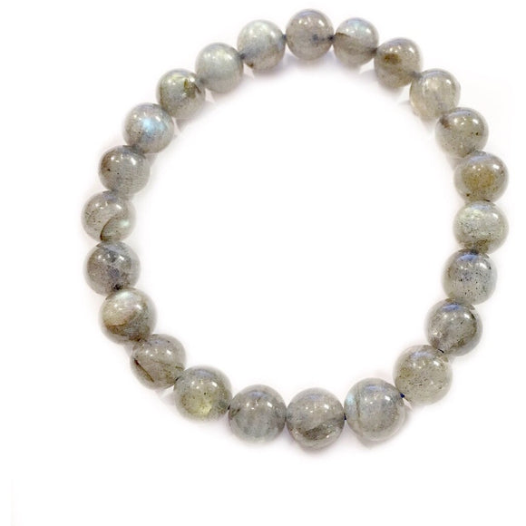 Lila Labradorite Stacking Beaded Bracelet