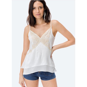 Gina Lace Applique Lovestitch Cami