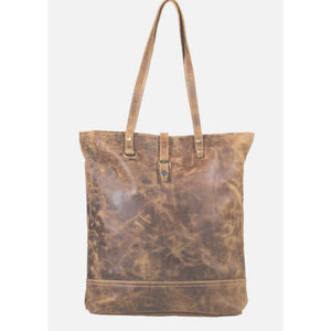 Molly Worn Leather Tote