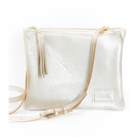 Brio Gold Tassel Crossbody Handbag