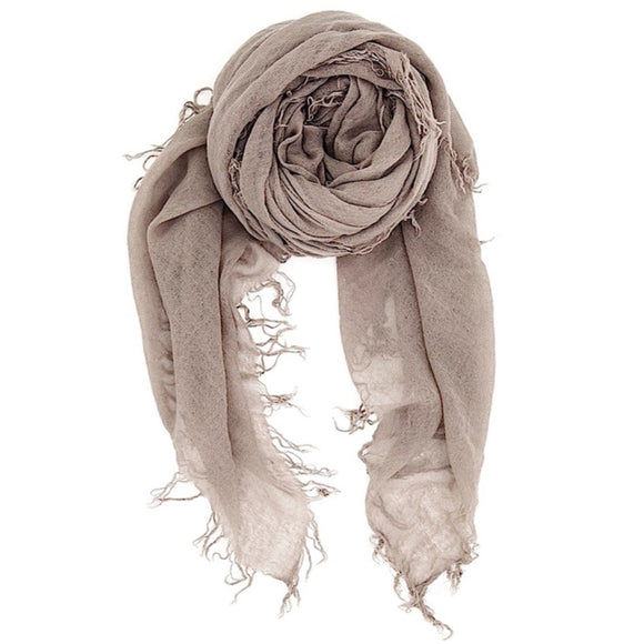 Drea Light Brown Scarf