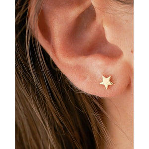 Lauren Star Gold Studs