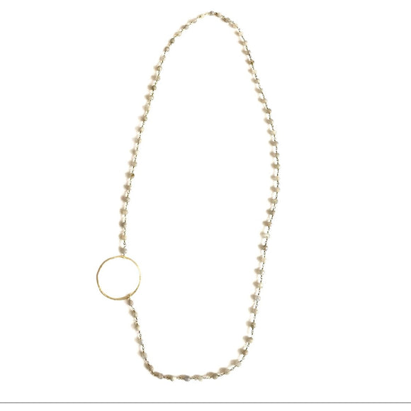 Channing Circle Necklace