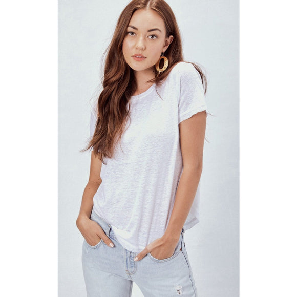 Ariel White Lovestitch Tee