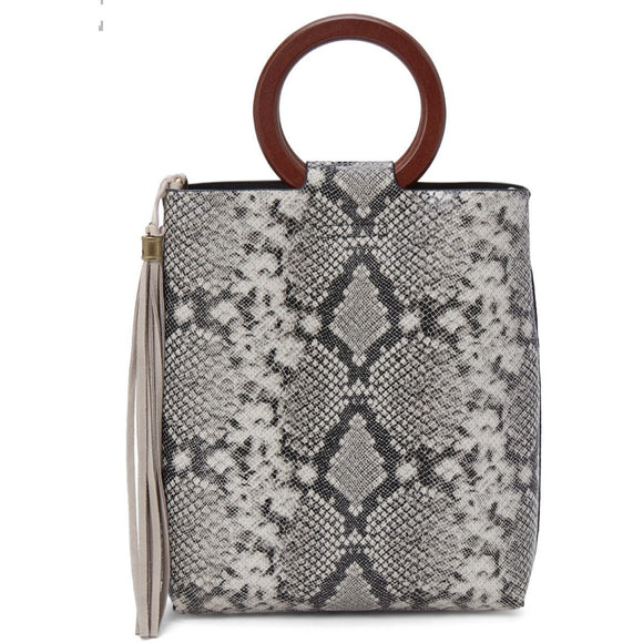 Greer Snake Crossbody Handbag Street Level