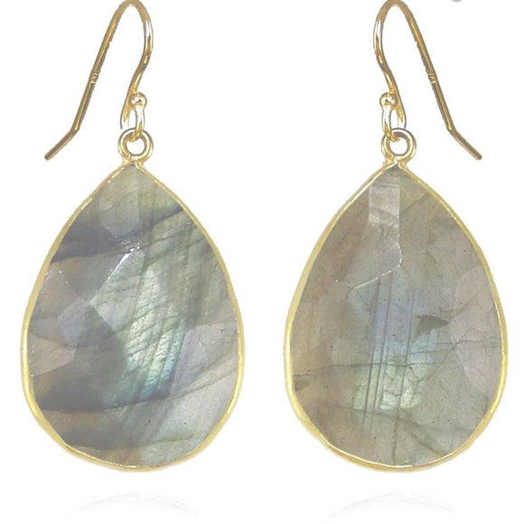 Claire Labradorite Dangle Earrings