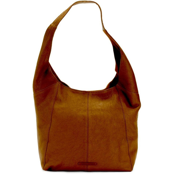 Alana Patti Lucky Brand Leather Brown Shoulder Handbag