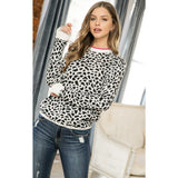 Kelly Animal Print THML Light Weight Spring Sweater