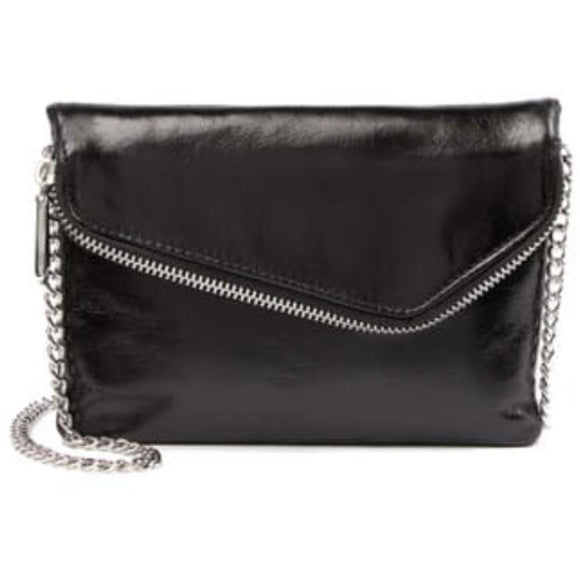 Hobo Daria Black Chain Crossbody Handbag