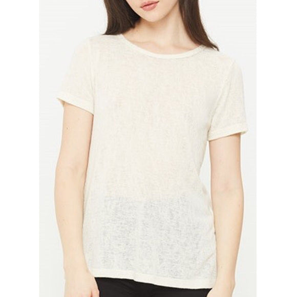 Melrose Clay Crew Neck T-Shirt by Comune C19X100-Fig Tree Jewelry & Accessories