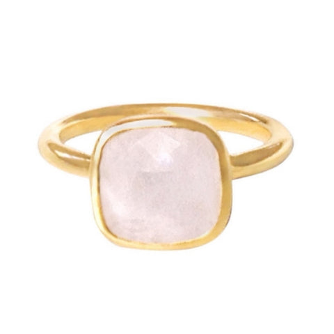 Claire Gold Moonstone Ring