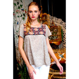 Trina THML Embroidered Top