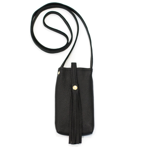 Catherine B Black Phone Purse