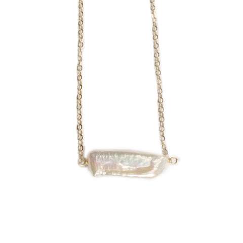 Emma Long Pearl Necklace