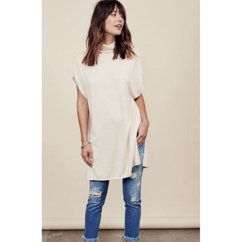 Zena Cream Tunic Lovestitch Sweater