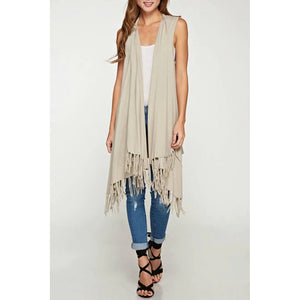 Brielle Lovestitch Fringe Vest