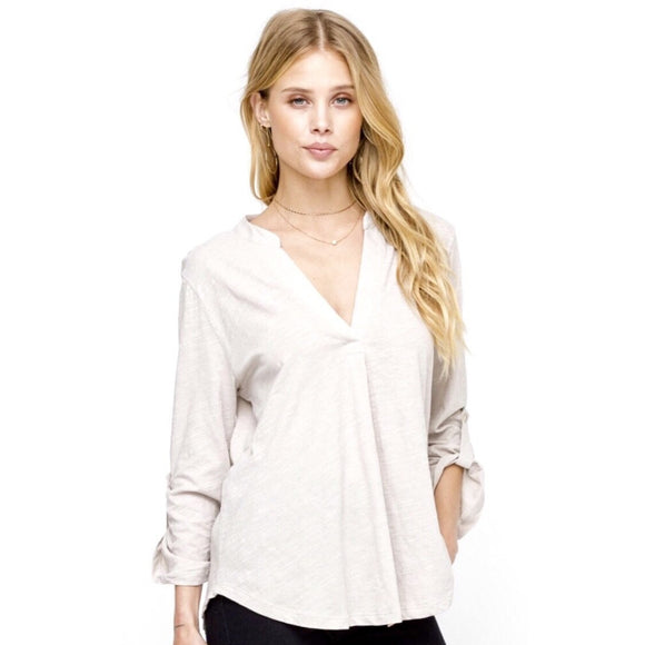Annabelle Lush Deep V Top