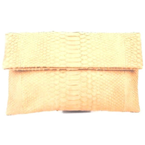 Bria Cream Clutch Handbag