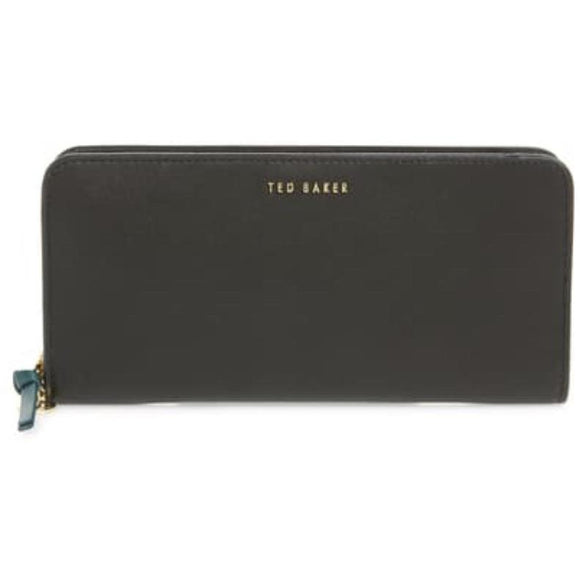 Ted Baker Smooth Black Leather Wallet