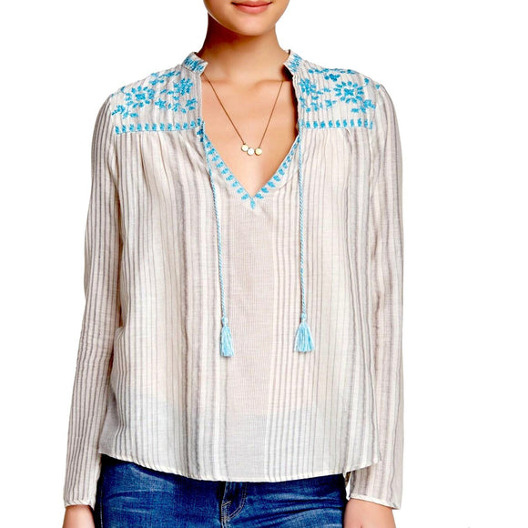 Amelia Embroidered Top Lovestitch