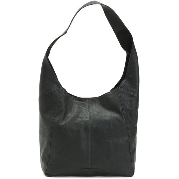 Alana Lucky Brand Leather Black Tote Handbag