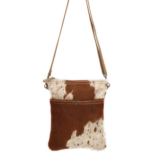 Lara Brown Cowhide Crossbody
