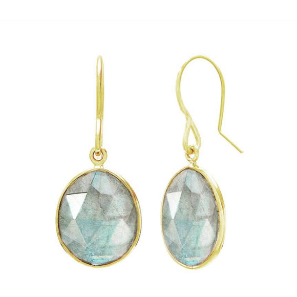 Andi Labradorite Drop Earrings
