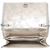 Luna Gold Metallic Crossbody Handbag-Fig Tree Jewelry & Accessories