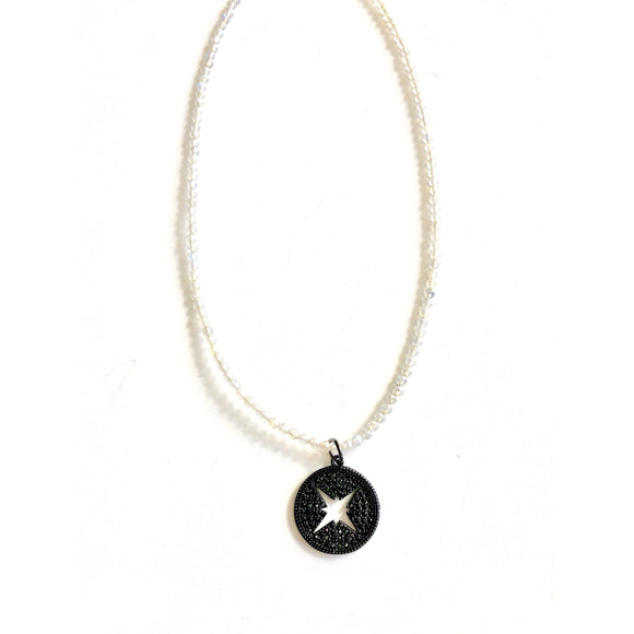 Alana Star Circle Short Beaded Necklace