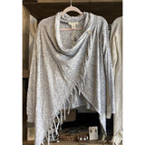 Carys Natural or Grey Fringe uLovestitch Sweater
