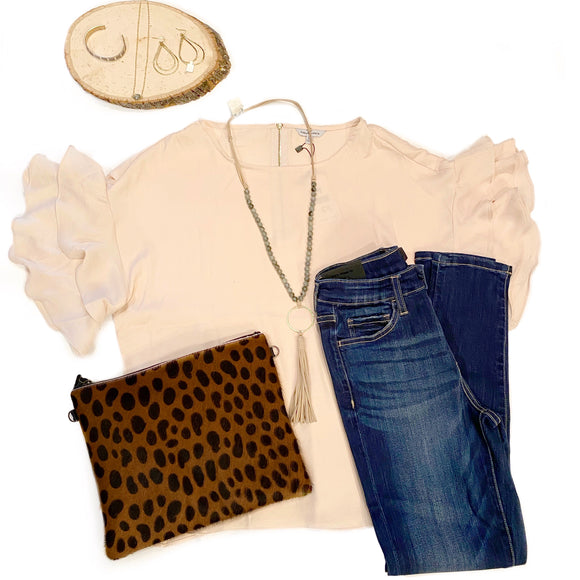 Brittany Soft Cream Top-Fig Tree Jewelry & Accessories