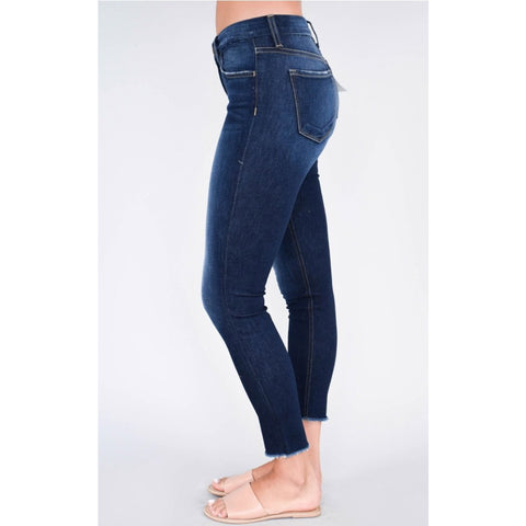 Flying Monkey Midrise Raw Hem Jean