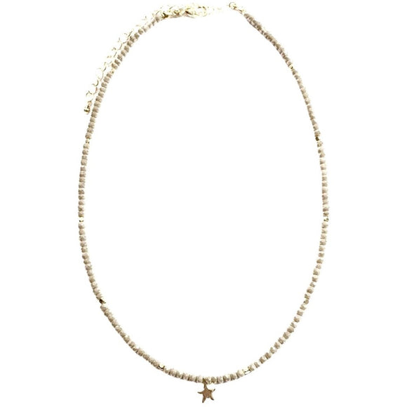 Lauren Gold Circle or Star Crystal Choker Necklace