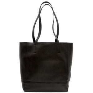 Chloe Black Leather Tote Handbag