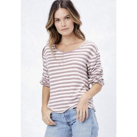 Alyssa  Lovestich Large Striped Top