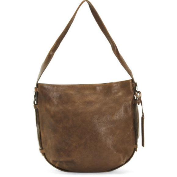 Alonso Leather Brown Tote Handbag