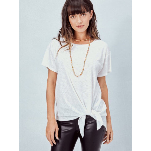 Lush Side Tie Knot Tee
