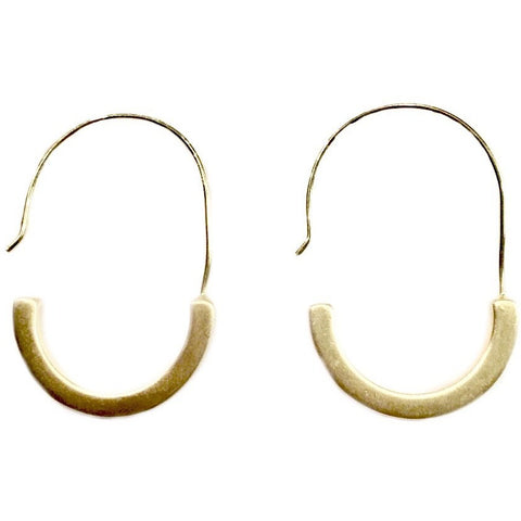 Kara Small Open Drop Earrings