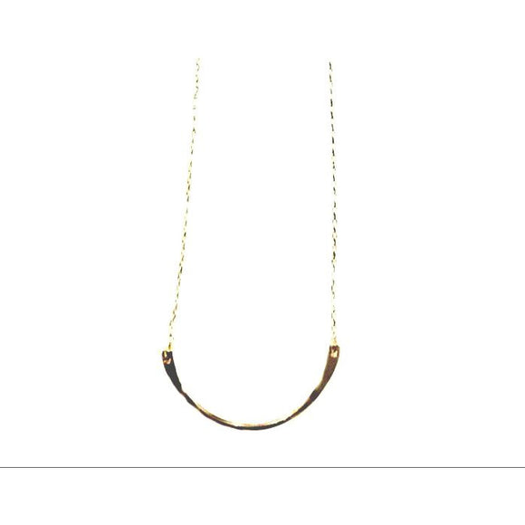 Avia Crescent Pendant Necklace