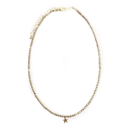 Lauren Single Star Choker