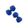 Silk Knot Cufflinks in Assorted Colors