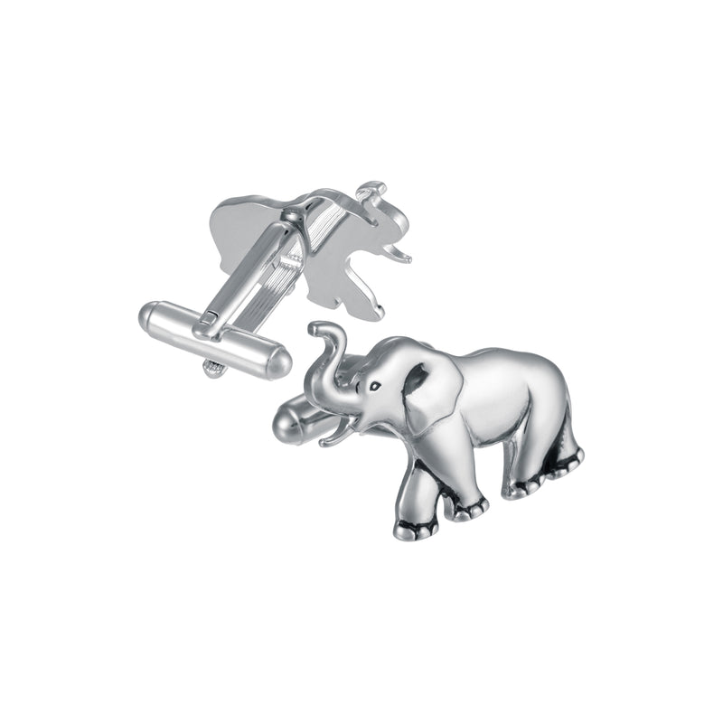 Metal Elephant Cufflinks