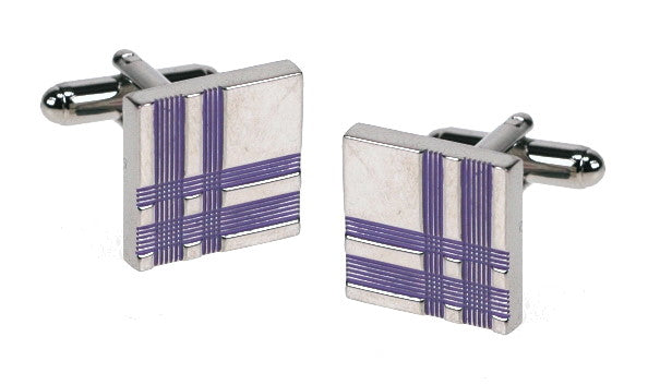 Tartan Plaid Cufflinks